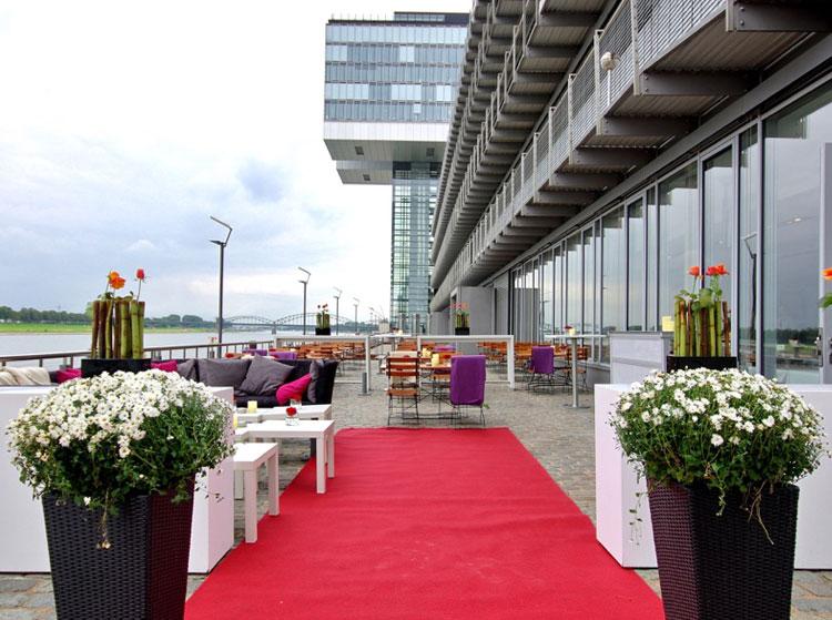 Hochzeitsfeier Location Köln direkt am Rhein