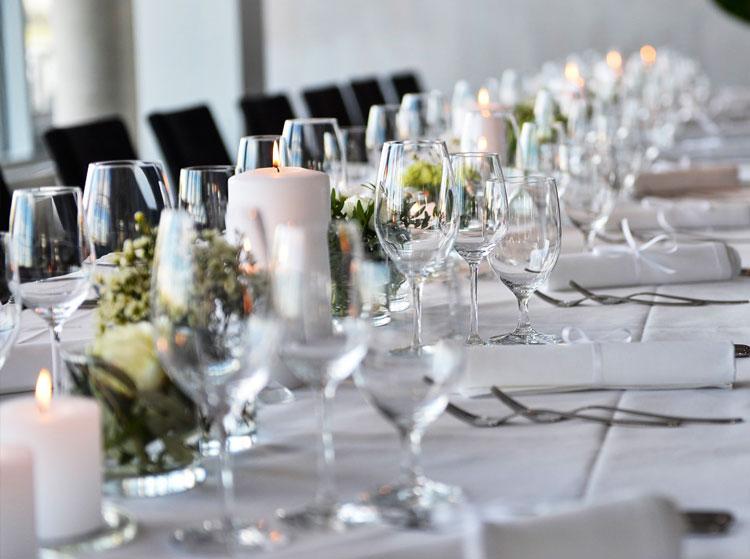 Hochzeitsfeier Location Köln: Individuelle Einrichtung