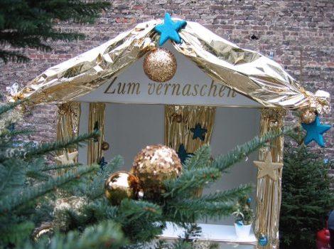Weihnachtsfeier, Weihnachtsmarkt in Köln am Rhein