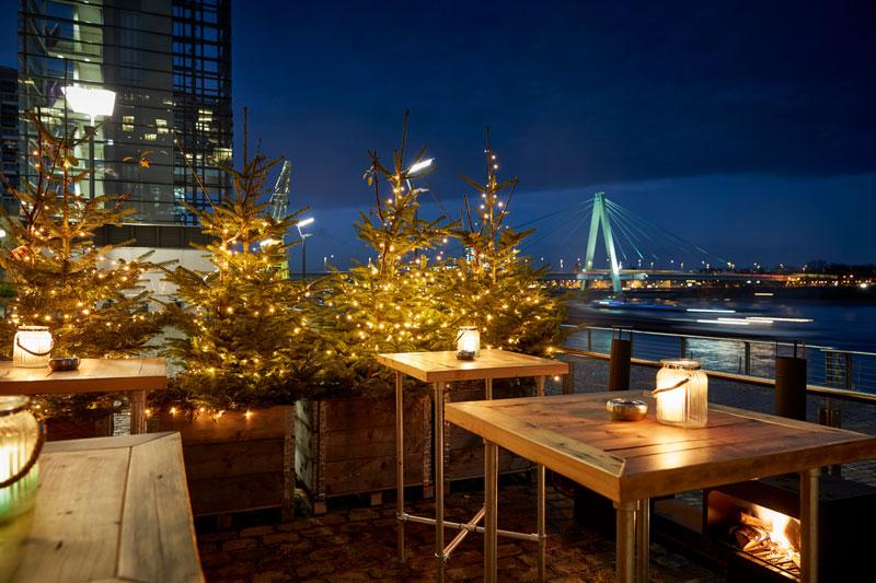Pe303: Die Location für Ihre Weihnachtsfeier in Köln direkt am Rhein